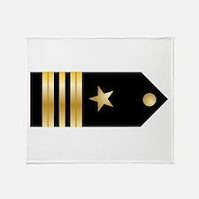 Lt. Commander Board Throw Blanket