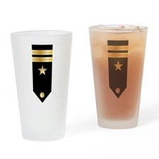 Lieutenant Board Drinking Glass