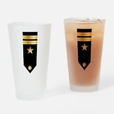 Lieutenant Board Drinking Glass
