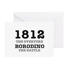 1812 OVERTURE - BORODINO BATTLE Greeting Card