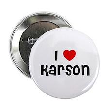 "I * Karson 2.25"" Button (10 pack)"