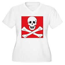 SkullBonesRed1 T-Shirt