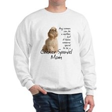 CockerMom#1Tile Sweatshirt