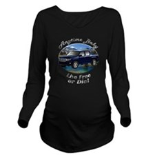 cat5car19bg44ut66lt2 Long Sleeve Maternity T-Shirt
