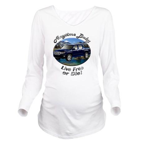 cat5car19bg44ut66lt2 Long Sleeve Maternity T-Shirt