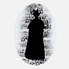 Ripper Silhouette Ornament (Oval)