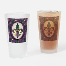 FleurMGbeads2JpPSq Drinking Glass
