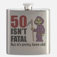 50 Isnt Fatal But Old Flask