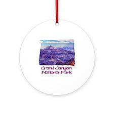 Sunset Grand Canyon Round Ornament