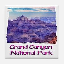 Sunset Grand Canyon Tile Coaster