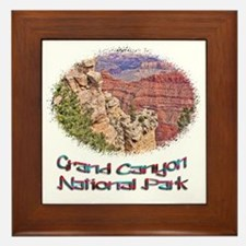 Grand Canyon Natl Park - South Rim Framed Tile