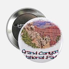 """Grand Canyon Natl Park - South Rim 2.25"""" Button"""