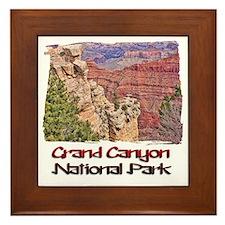 Grand Canyon Framed Tile