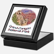 Grand Canyon Natl Park - South Rim Keepsake Box