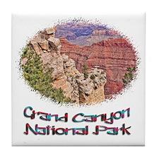 Grand Canyon Natl Park - South Rim Tile Coaster