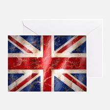 475 Union Jack Flag large Greeting Card