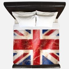 475 Union Jack Flag large King Duvet