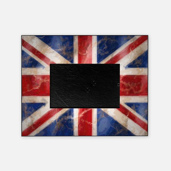 475 Union Jack Flag large Picture Frame