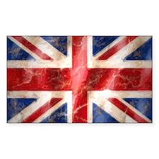475 Union Jack Flag large Decal