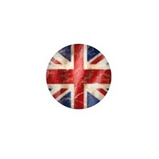 475 Union Jack Flag square and large Mini Button