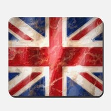 475 Union Jack Flag square and large Mousepad