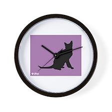 Korat iPet Wall Clock