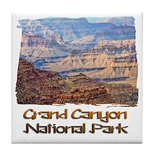 Grand Canyon 2 Tile Coaster