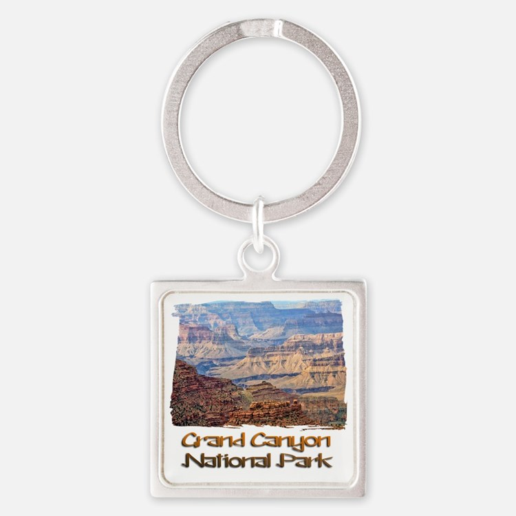Grand Canyon 2 Square Keychain
