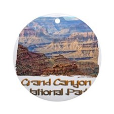 Grand Canyon 2 Round Ornament