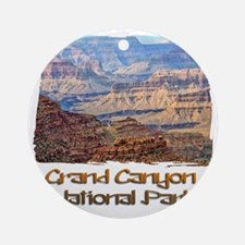 Grand Canyon 2 Round Ornament
