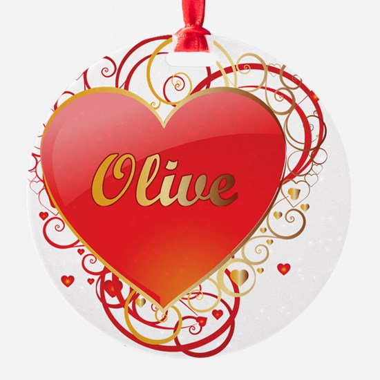 Olive-Valentines Ornament