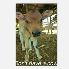 Dont have a cow! Postcards (Package of 8)