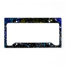 Blue-Art-Sapphire-laptop-skin License Plate Holder