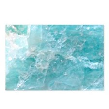 Blue-Agate-laptop-skin Postcards (Package of 8)