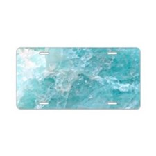 Blue-Agate-laptop-skin Aluminum License Plate