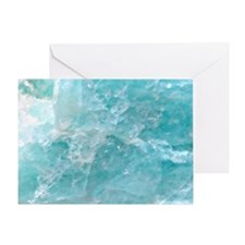 Blue-Agate-laptop-skin Greeting Card