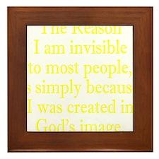 gods image ylw Framed Tile