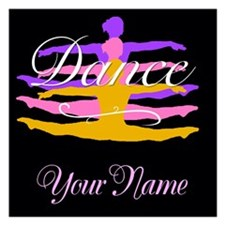 Dance Customizeable Invitations