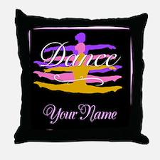 Dance Customizeable Throw Pillow