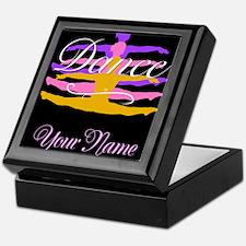 Dance Customizeable Keepsake Box