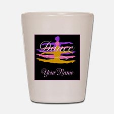 Dance Customizeable Shot Glass