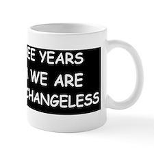 anti obama hopeless and changelessd Mug