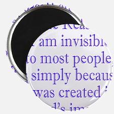 gods image purple Magnet