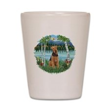 Birches - Airedale 1 Shot Glass