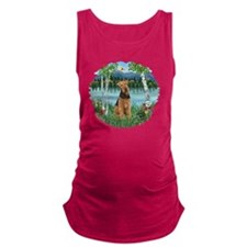 Birches - Airedale 1 Maternity Tank Top