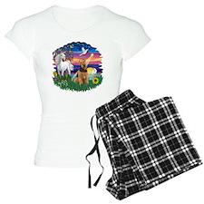 Magical Night - Airedale 1 Pajamas