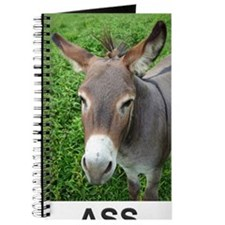Mule with Text Journal