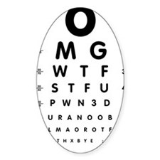 eyechart-01c-black Decal