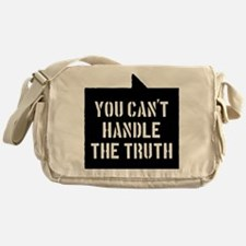 you-cant-handle-the-truth-01b-black Messenger Bag