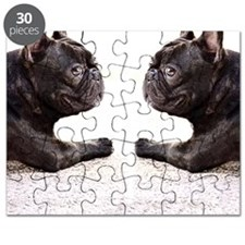 french bulldog flip flops Puzzle